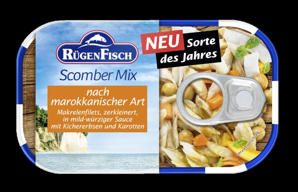 Sorte des Jahres : Rügen Fisch – Scomber Mix Marokko, 120g